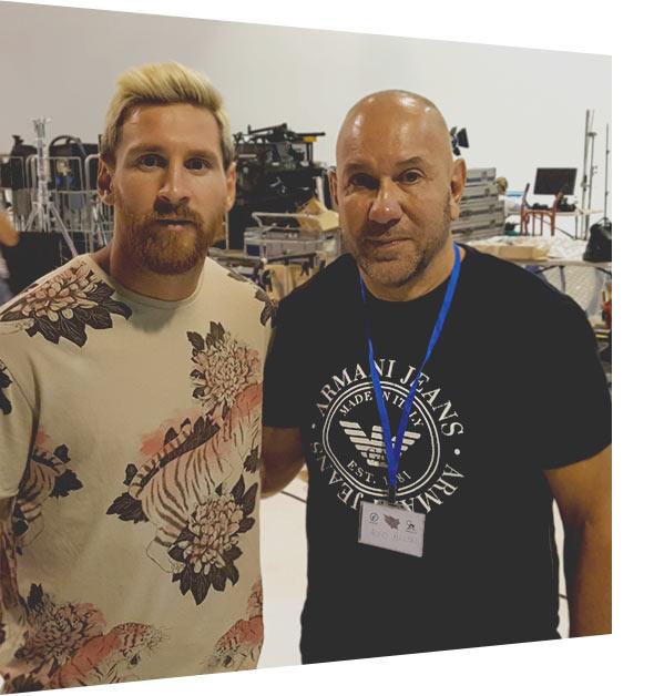 Messi and Alfio